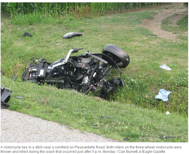 Spyder Wreck In Central Ohio Monday Page 2